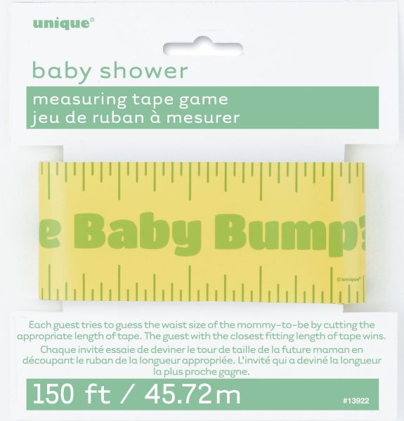 Baby Bump Measuring Tape Game